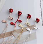 rose gold necklaces silver rose necklaces