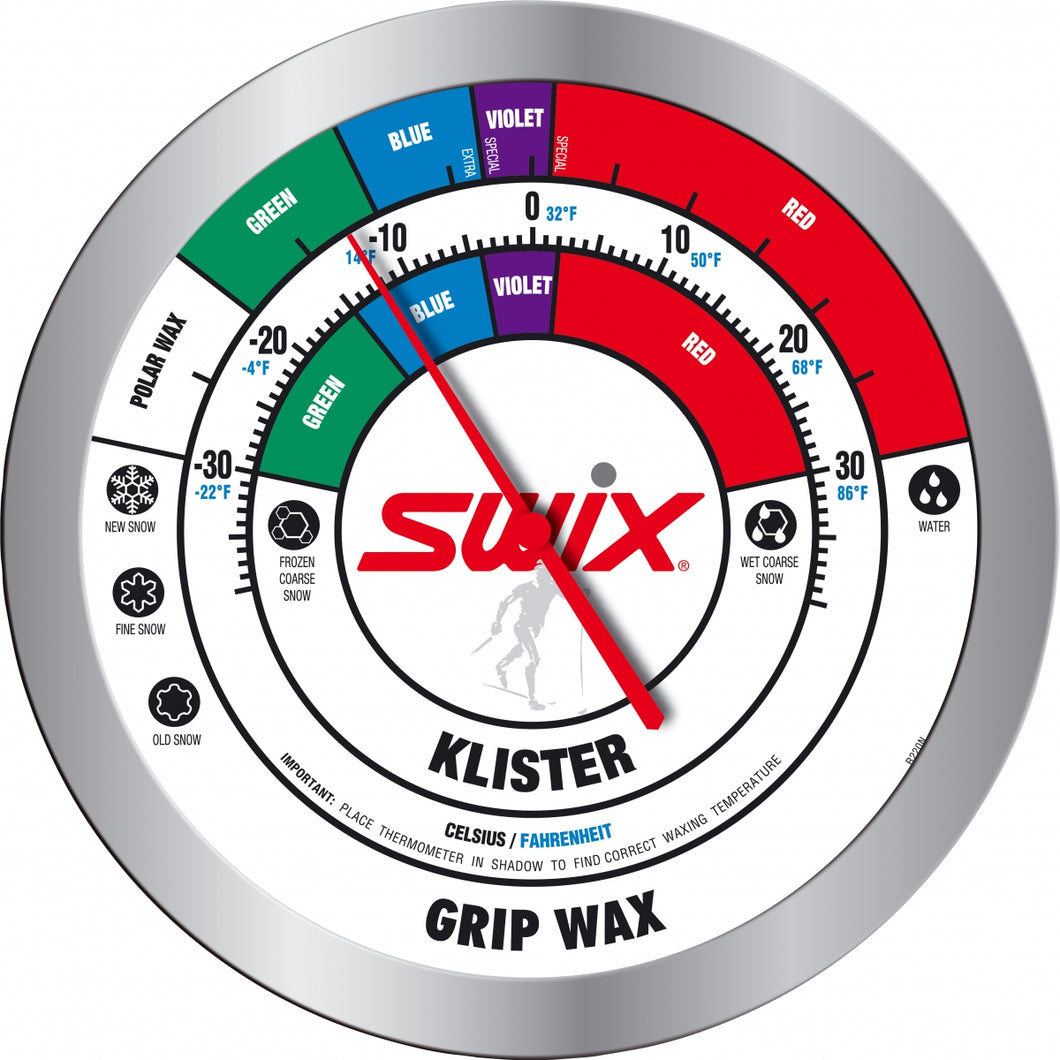 SWIX WALL ROUND THERMOMETER