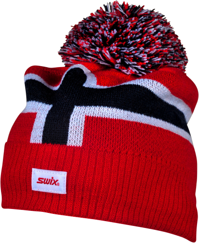 NORWAY BIG POM SWIX HAT
