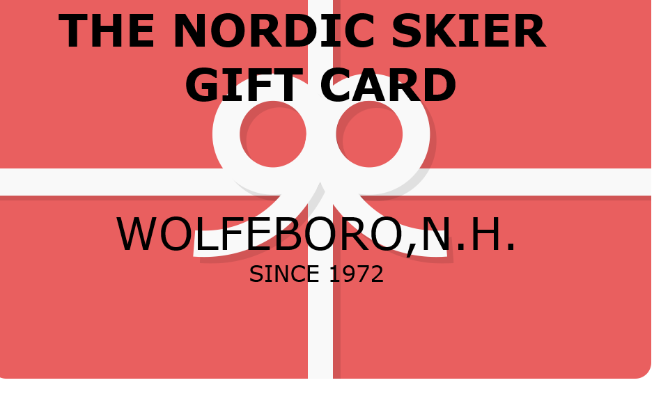 THE NORDIC SKIER GIFT CARD