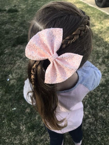 glitter, glitter bows, braid, hair clip, girl, toddler, bow, bows, headband, headbands, head wrap, baby, baby shower, baby-photography, photography prop, girl hair style, hairstyles, Fabric Bow, faux leather bow, Hair bow