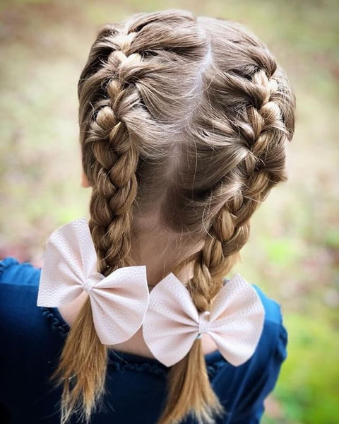 Pig Tail French Braids