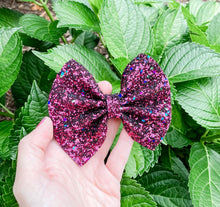 glitter, glitter bow, braid, hair clip, girl, toddler, bow, bows, headband, headbands, head wrap, baby, baby shower, baby photography, photography prop, girl hair style, hairstyles, Fabric Bow, faux leather bow, Hair bow, newborn bow, newborn photography, hair accessory, baby girl, burgundy Glitter Bow