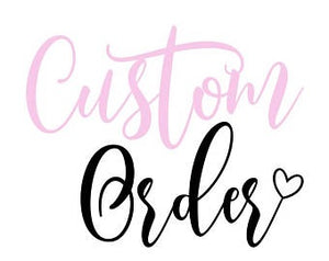 Custom Order Bow Per Approval Only
