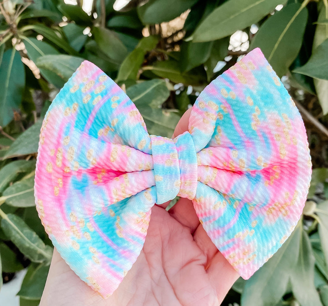 Boho Beauty Fabric Bow Headband | Hair Clip