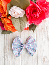 Ice Powers Glitter Bow Headband | Hair Clip