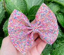 Fall Glitter Mix Bow Headband | Hair Clip