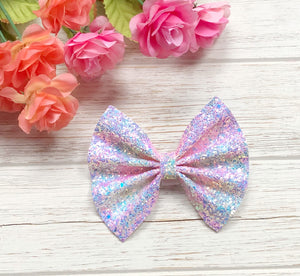 Unicorn Glitter Bow Headband | Hair Clip