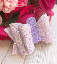 HAPPY BIRTHDAY Number Bow (read description before ordering) Glitter Bow Headband | Hair Clip