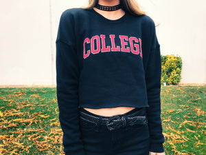 Women's College Cropped Fleece - Discontinued