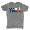 Men's Vintage T-Shirts CDR, texas, flag, state, y'all, yall, tee, bigger