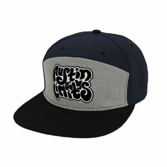 ACL Squiggle Font Snapback Hat