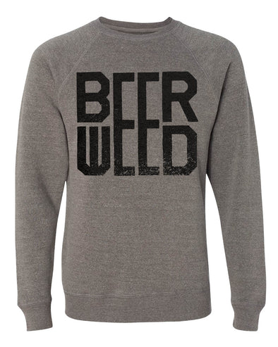 Unisex Beer Weed Fleece