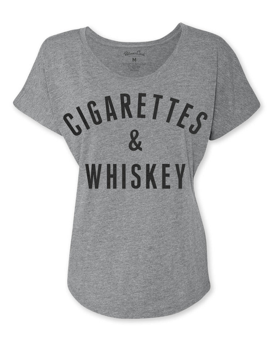 Women's Cigarettes & Whiskey T-Shirt