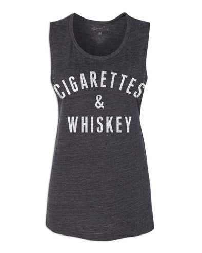 Women's Cigarettes & Whiskey Muscle Tank