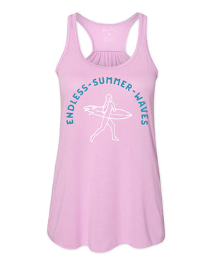 Women's Endless Summer Waves Tank Top