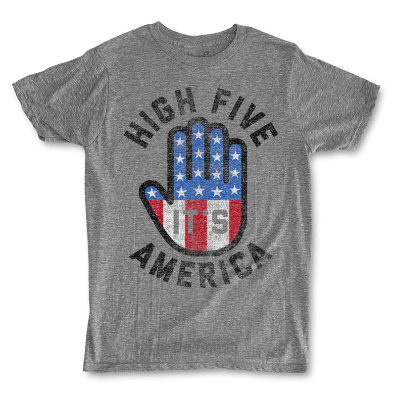 Men's High Five It's America T-Shirt -Discontinued