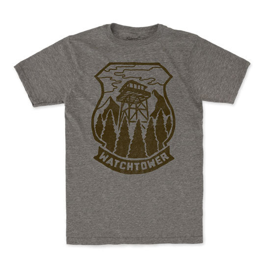 Men's Jimmy Bryant Watch Tower T-Shirt
