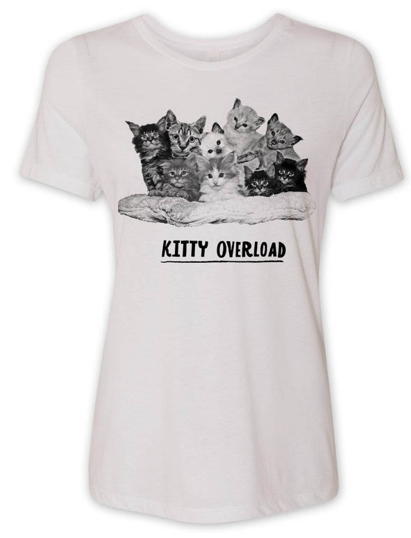 Women's Kitty Overload T-Shirt -Discontinued
