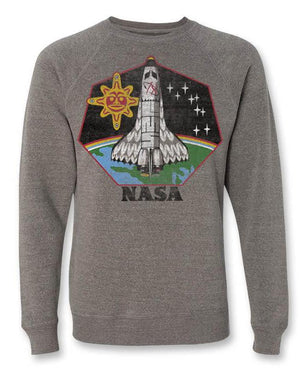 Unisex NASA Native American Crewneck Sweatshirt