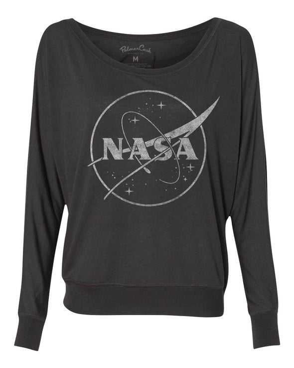 Women's NASA Logo Long Sleeve