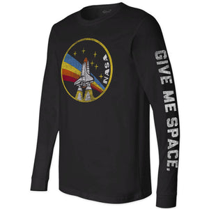 Unisex NASA Rainbow Long Sleeve