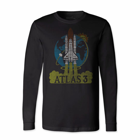 Unisex NASA Atlas 3 Long Sleeve