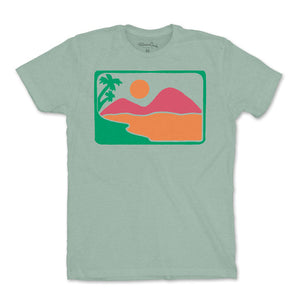 Men's Block Sunset T-Shirt