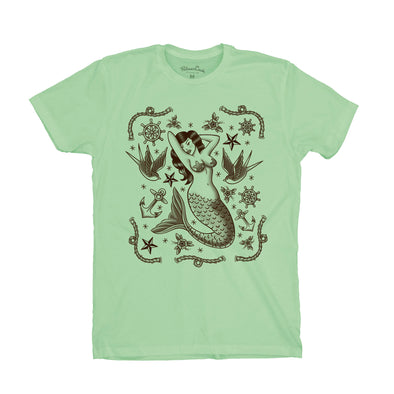 Men's Tattoo Siren T-Shirt
