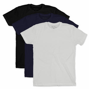 Men's Suede T-Shirts 3 Pack