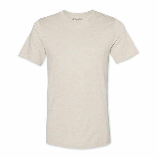 Men's Heather Natural Blank T-Shirt