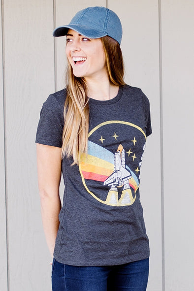 Women's NASA Rainbow T-Shirt