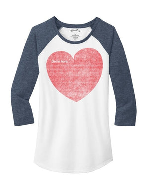 Women's CDR Get In Here Raglan T-Shirt