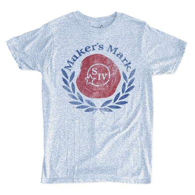 Men's Makers Mark Logo Denim T-Shirt -Discontinued