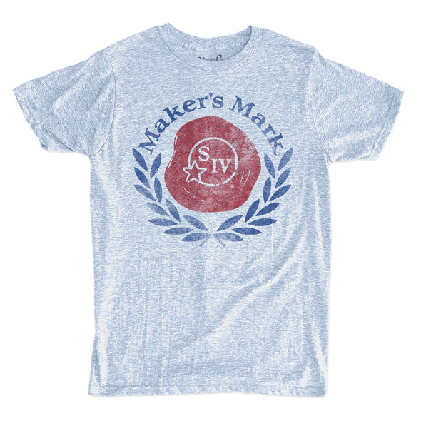 Men's Makers Mark Logo Denim T-Shirt