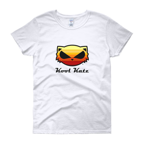 Kool Katz Yellow Sunrise Women's short sleeve t-shirt