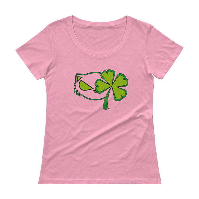 Katz & Clovers Ladies' Scoopneck T-Shirt