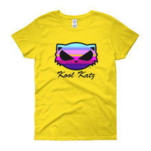 Kool Katz Purple Sunrise Women's short sleeve t-shirt