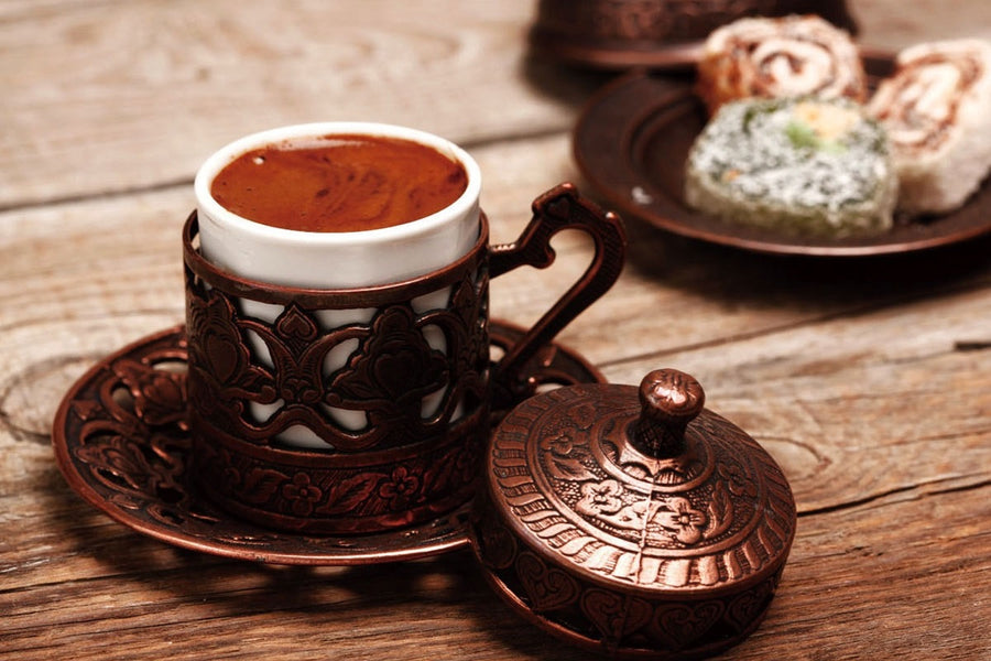 Brewing the Most Caffeinated Turkish Coffee