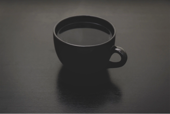 coffee cup black coffee facts