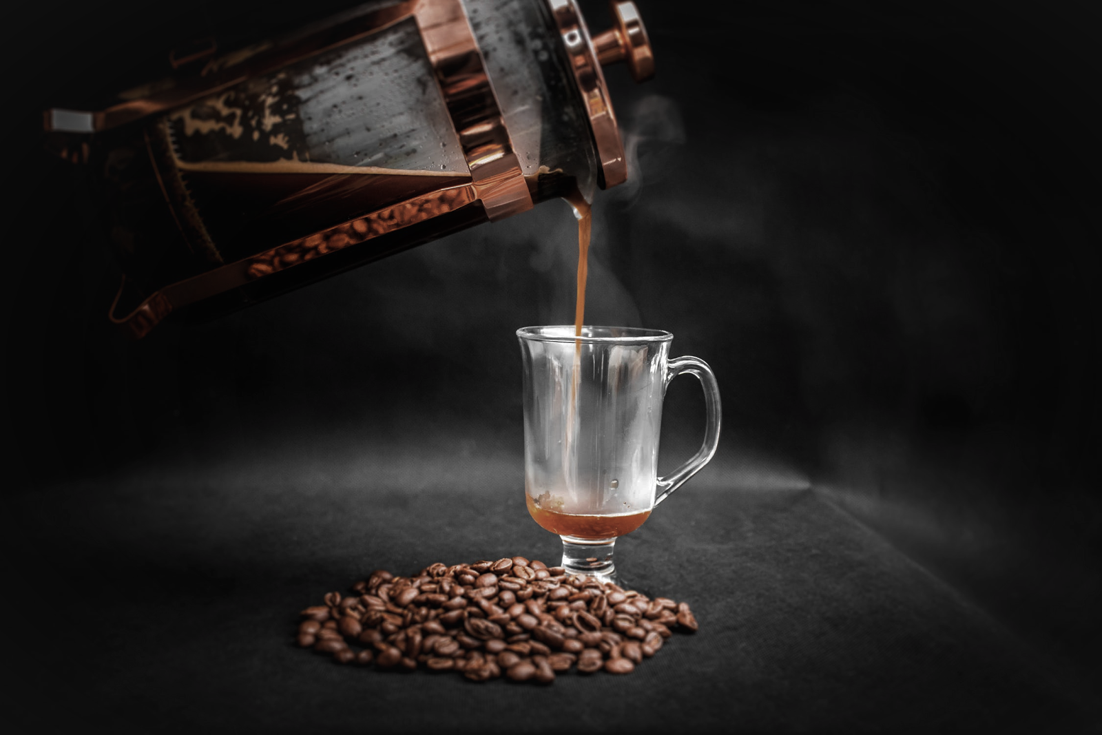 best coffee makers 2019 french press pouring coffee