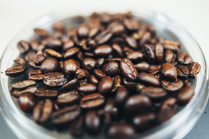 benefits of coffee jar of coffee beans