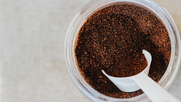 coffee grounds make strongest coffee