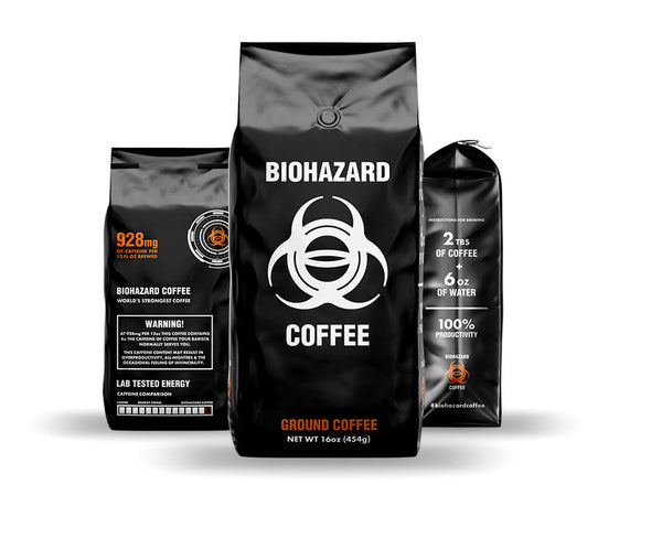 biohazard coffee ground