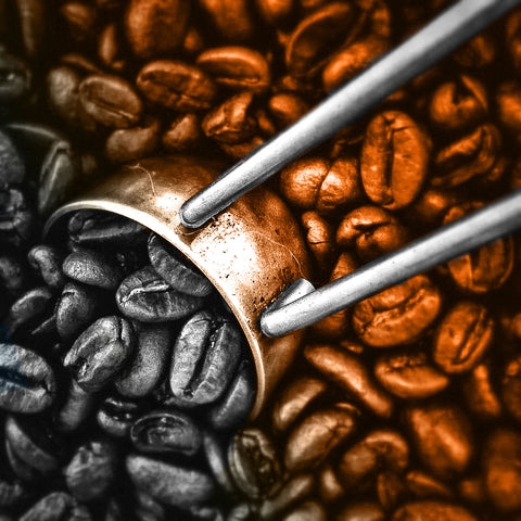 beans, coffee, strong coffee