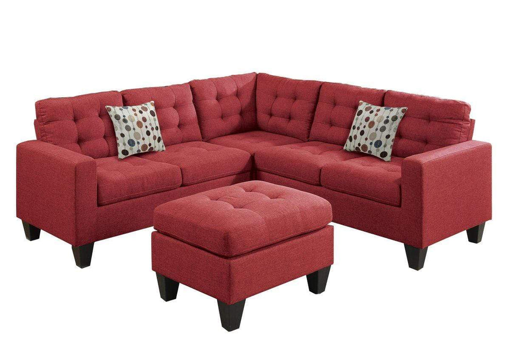 Aida Sectional Sofa and Ottoman