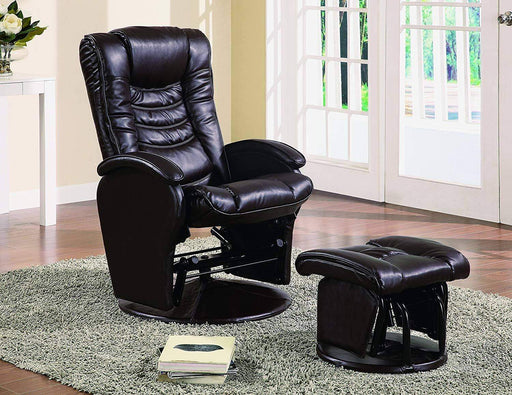 Alondra Glider Recliner and Ottoman