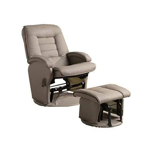 Amanita Glider Recliner and Ottoman