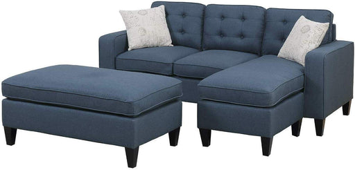 Boaz Sectional Sofa and Ottoman