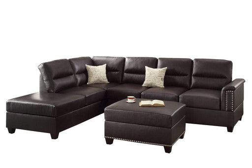 Byrd Sectional Sofa and Ottoman